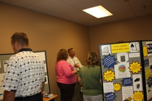GE Energy's Safety Day Jim has discussion with employees